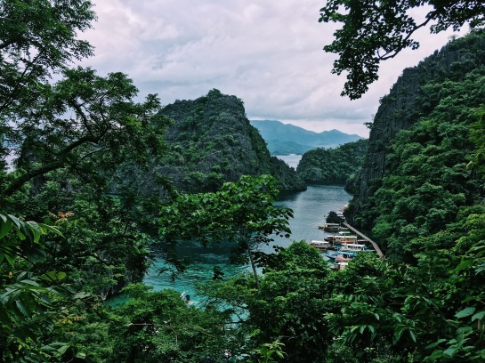 Viewpoint at Kayangan Lake